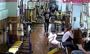 fitness teen girls hidden camera