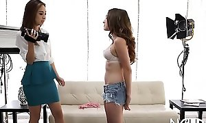 In force age teenager hottie goes hardcore vanguard casting coupled with gets satisfied