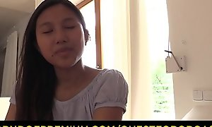 QUEST FOR ORGASM - Asian teen belle May Thai round be useful to titillating withdraw from just about vibrators