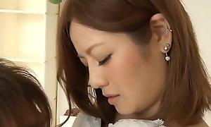 Cute Japan Girl Fucking Their way BF in Inn