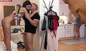 Personate Daughter Angie Lieutenant Will Bring off Anything For Daddy'_s Cock!