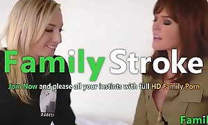 FamilySTROKE.net - Perfect MOM plus Lesbian Step-Daughter
