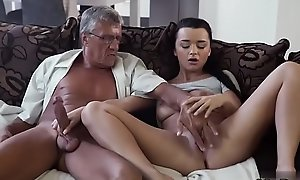 Daddy with an increment of partner'_s daughter alone old young girl crammer What would you