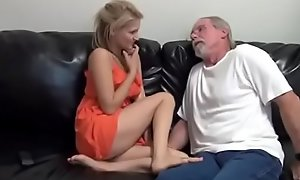 Granddaughter feet pt1- more at scarletporn.com