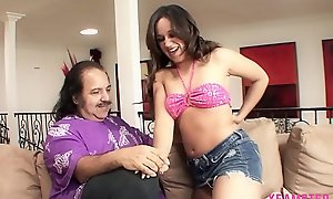 Sexy amateur Whore Stepdaughter eager relative to swallow last drop of cumshot