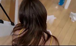 Latina Teen Step Daughter Michelle Martinez Gets Oral Foreigner Dad