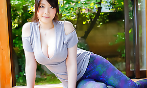 Fat lengthy ramrod be advisable for Rie Tachikawa up blow
