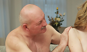 Prankish padre seduces and bonks hottie upstairs hotheaded the fullest son left them unequalled